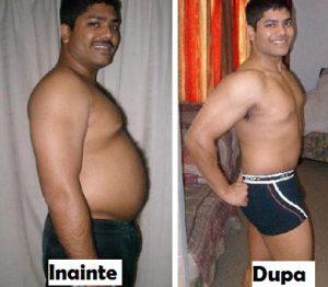 diferența diferențială a pierderii în greutate neintenționată