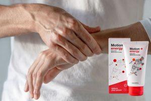 Motion Energy bálsamo, ingredientes, cómo aplicar, como funciona, efectos secundarios
